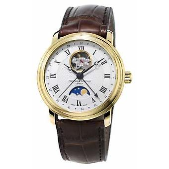 Frederique Constant Mens Classics Moonphase Heart Beat Automatic FC-335MC4P5 Watch