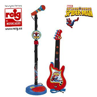 Reig Spider Guitar And Microfone