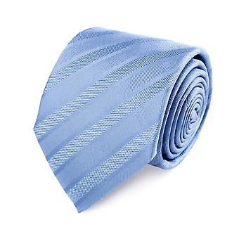 Pellens & Loïck classic tie silk silk tie light blue striped