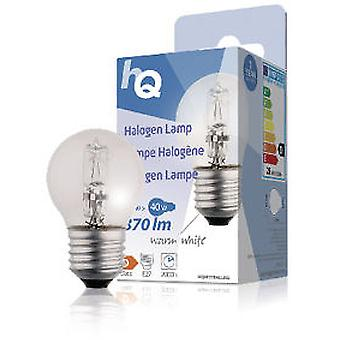 HQ Halogen bulb E27 28W 370LM 2800K Esférica (Home , Lighting , Light bulbs and pipes)
