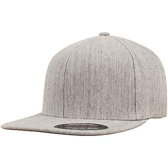 Visiera piana Flexfit fitted Cap - heather grey