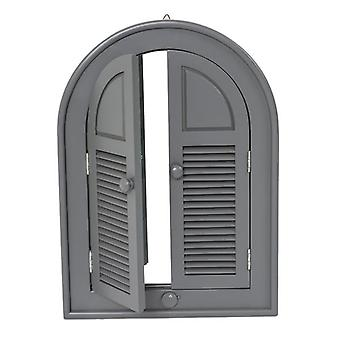 Florenity Grigio Grey Outdoor Arch Mirror