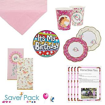 Pony Party Tableware Saver Pack - Option 1