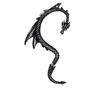 Alchemy Pewter Earrings The Black Dragon Lure