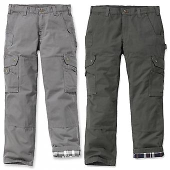 Carhartt flannel-lined Ripstop cargo pants