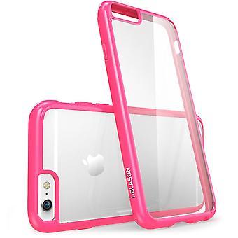 iPhone 6s caso, resistente a los arañazos, i-Blason claro, Halo Series, Apple iPhone 6 caso 6s 4,7 pulgadas híbrido parachoques - claro/color de rosa