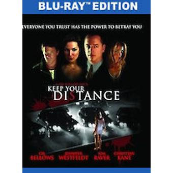 Keep Your Distance [Blu-ray] USA import
