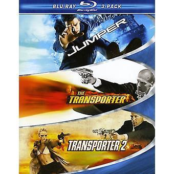 Action 3Pak [Blu-ray] USA import