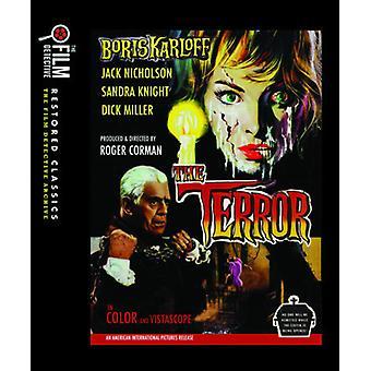 Terror [Blu-ray] USA importerer