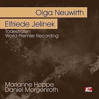 Neuwirth, Olga/Elfriede Jelinek - Olga Neuwirth: Todesraten [CD] USA import