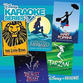 Disney Karaoke Series - Disney on Broadway [CD] USA import