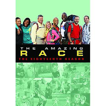 Amazing Race: Sæson 18 [DVD] USA importerer