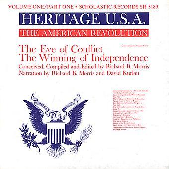 Morris/Kurlan-Morris/Kurlan: Vol. 1-arv Usa del 1: amerikanske Revolution [CD] USA import