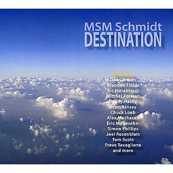 MSM Schmidt - Destination [CD] USA import