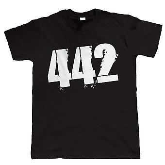 Vectorbomb, 442, Mens calcio Tshirt