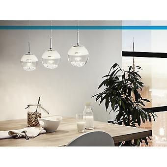 Eglo Montefio 3 Crystal Water Bowl Ceiling Pendant
