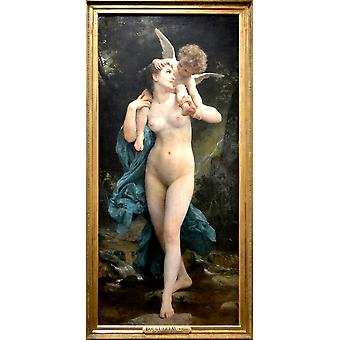 William Bouguereau - La Jeunesse et l'Amour Poster Print Giclee