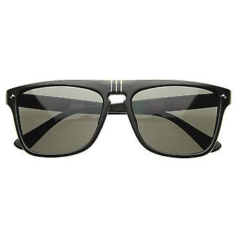 Flat Top Designer Shades lunettes de soleil aviateur moderne décontracté