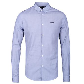 Armani Jeans luz Chambray Slim Fit camisa
