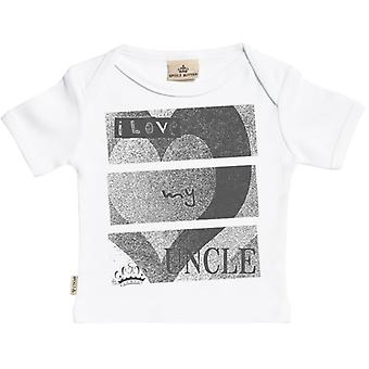 Spoilt Rotten I Love My Uncle Short Sleeve Baby T-Shirt