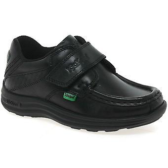 Kickers Reasan rem børnehaveklassen drenge sko