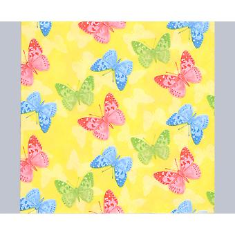 20 Yellow Butterflies 3-Ply Paper Decopatch Napkins | Decoupage Crafts
