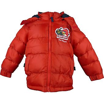 Boys HO1218 Angry Birds Winter Hooded Puffer Jacket