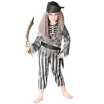 Infantiles disfraces traje de pirata fantasma para niños