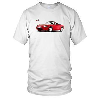 Mazda MX 5 klassiske bil Herre T Shirt