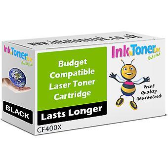Compatible 201 X Toner noir CF400X pour HP couleur LaserJet Pro MFP M277
