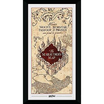 Harry Potter Marauders Map Collector Print 50x70cm