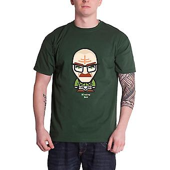 Breaking Bad T Shirt Underwear Minion Walter Official Mens New Green