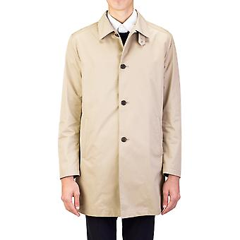 Prada Herren wasserdichte Aviation Trenchcoat Mantel Jacke Khaki