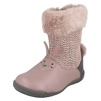 Girls Clarks Casual Boots Iva Time