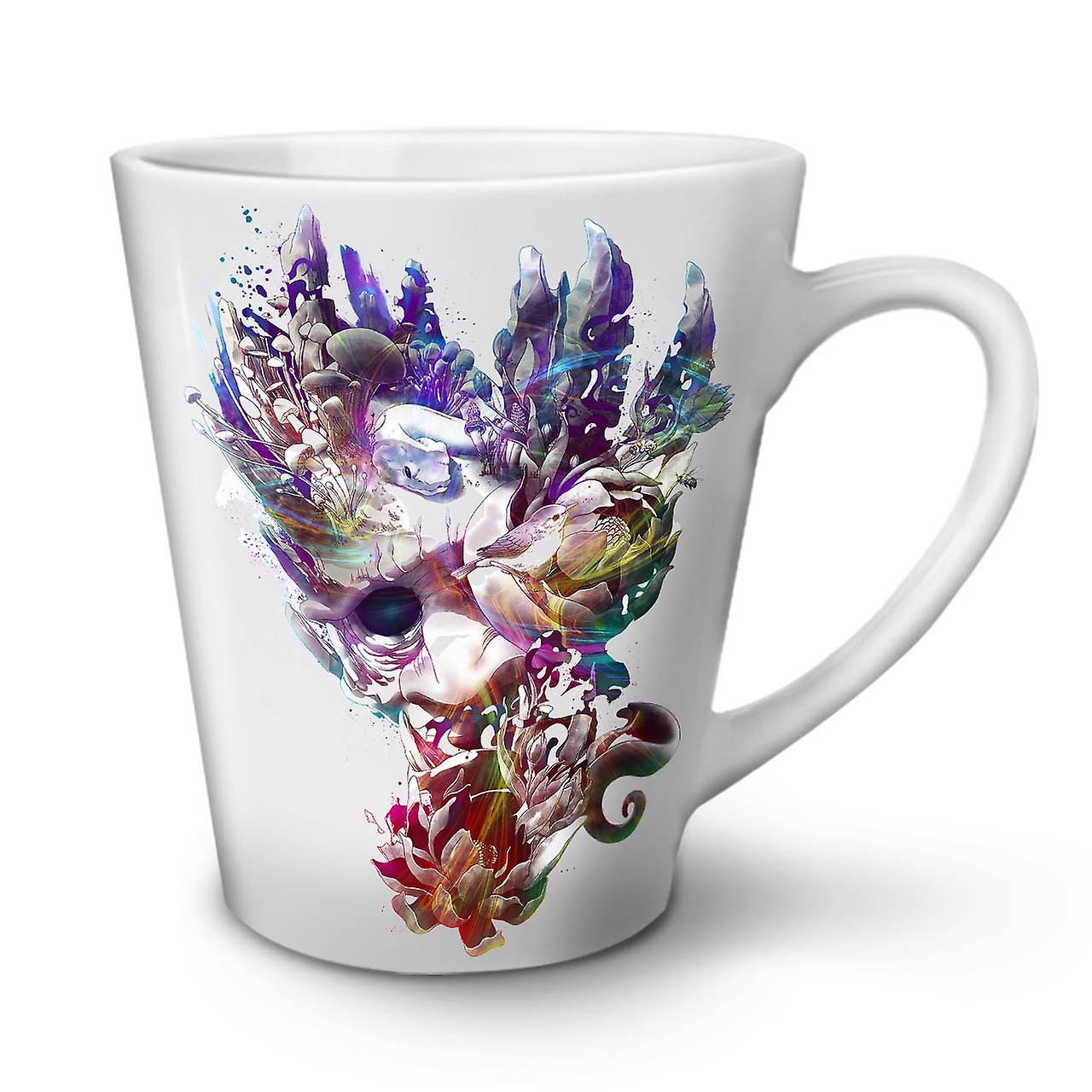 Art Face Mystic Fashion NEW White Tea Coffee Ceramic Latte Mug 12 oz | Wellcoda