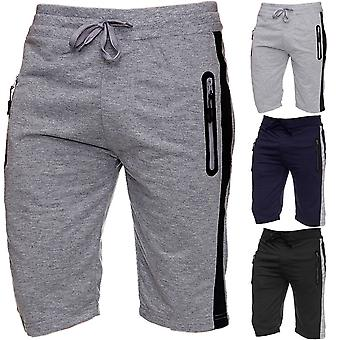 Men's Sweat shorts jogging sports shorts jogging basketball summer knee-length