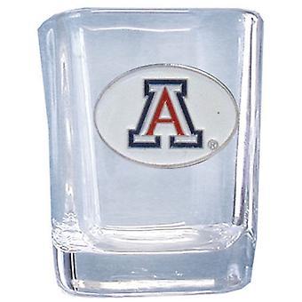 Arizona Wildcats NCAA Square vetro di colpo
