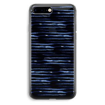 Przezroczyste etui (Soft) - zaskakujące linie Plus iPhone 7
