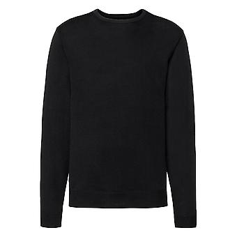 Russell Mens Cotton Acrylic Crew Neck Sweater