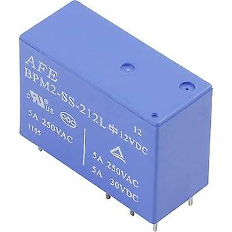 PCB relays 24 Vdc 5 A 2 change-overs AFE BPM2-SS-2