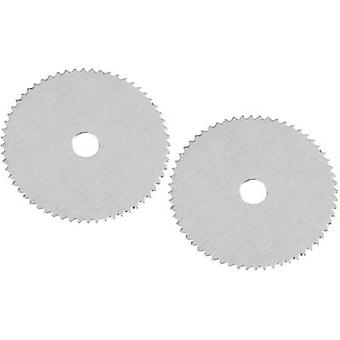 Pack of 2 circular saw blades 826617 Diameter: 19 mm Thick