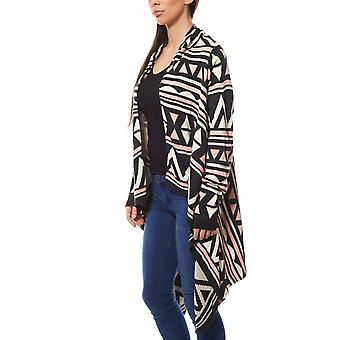 Tom tailor Jacquard Cardigan ethno look ladies black