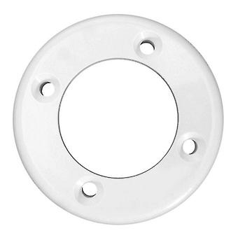 Pentair 545100 Face Plate for Vinyl Liner and Wall Fitting - White