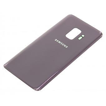 For Samsung Galaxy S9 back glass-Purple