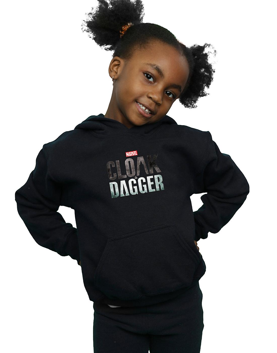 Marvel Girls Cloak And Dagger Logo Hoodie