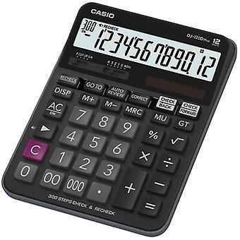 Casio PLUS calculatrice (modèle No. DJ120DPLUS-W)