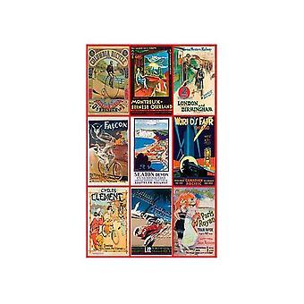 Piatnik Vintage Posters vervoer Jigsaw puzzel (1000 stuks)