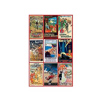 Piatnik Vintage poster trasporto Jigsaw Puzzle (1000 pezzi)