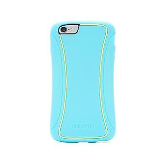 Griffin Survivor Slim Twotone to iPhone 6/6S Plus Coral Iceland Turquoise