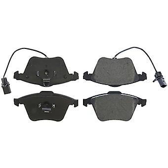 StopTech 308.09151 Street Brake Pad (Front with Shims and Hardware), 5 Pack